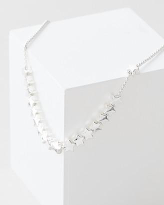 Estella Bartlett Stars So Bright Chain Slider Bracelet