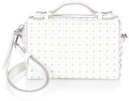 Tod's Mini Gommino Leather Box Bag