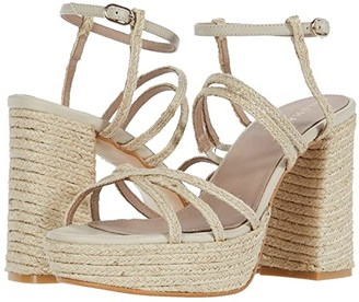ALOHAS Carioca Heeled Sandals (Natural) Women's Shoes
