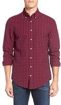 Gant Men's Slim Fit Gingham Seersucker Sport Shirt