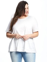 Old Navy Relaxed Plus-Size Peplum-Hem Top