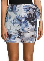 Robert Graham Women's Sukie Printed Silk Skort