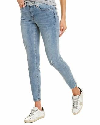 Vince Camuto Women's Contrast Waistband 5 Pocket Skinny Jean