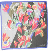 Cacharel Abstract Print Scarf