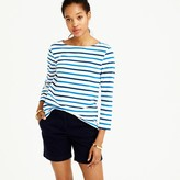 J.Crew Boatneck T-shirt in multicolor stripe