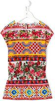 Dolce & Gabbana printed T-shirt dress