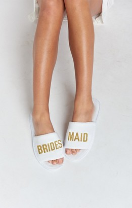 Show Me Your Mumu Brides Maid Slippers