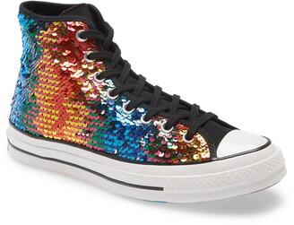Converse Chuck Taylor(R) All Star(R) 70 High Top Pride Sneaker