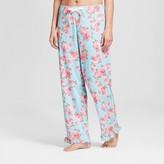 bride and beauties by BedHead Pajamas Bride & Beauties® by Bedhead Pajamas® Women's Cabbage Rose Long Ruffle Pajama Pant