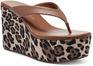 Jessica Simpson Stilla Platform Wedge Flip Flop