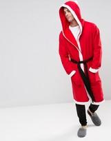 Asos Loungewear Holidays Santa Robe