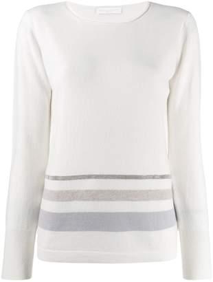 Fabiana Filippi striped sweatshirt