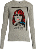 Bella Freud Anita wool and cashmere-blend sweater