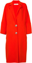 Marni buttoned maxi coat - women - Cashmere/Alpaca/Virgin Wool - 40