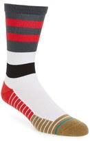 Stance Men's Fusion Athletic - Tidal Stripe Crew Socks