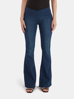 Free People Flare Penny Pull On Jeans