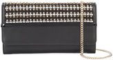 Lanvin beaded clutch - women - Leather - One Size