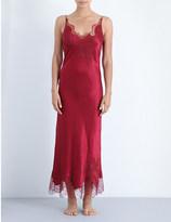 Carine Gilson Lost in Wonderland silk-satin and lace nightdress