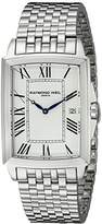 Raymond Weil Men's 5597-ST-00300 Tradition Analog Display Swiss Quartz Silver Watch