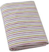 DwellStudio Painted Stripe Fitted Crib Sheet