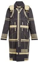 Craig Green Graphic-print Cotton Parka Jacket - Womens - Black Multi
