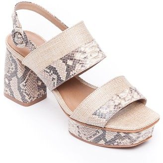 Bernardo Adjustable Platform Sandals - Racquel