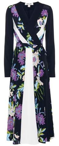 Diane von Furstenberg Penelope printed silk dress