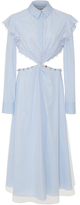 Prabal Gurung Collared Shirt Dress
