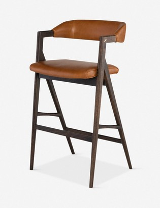Lulu & Georgia Sandia Bar Chair, Desert Leather
