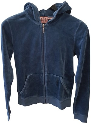 Juicy Couture Blue Cotton Knitwear for Women