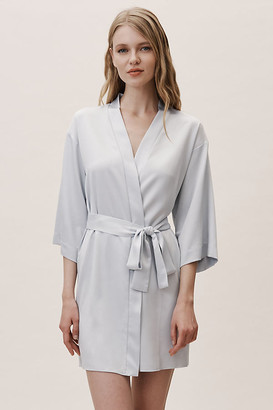 Flora Nikrooz Reverie Robe By in Blue Size XL