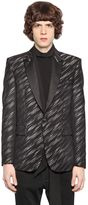 Just Cavalli Wool & Viscose Jacquard Jacket