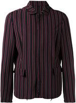 Wooyoungmi striped jacket - men - Elastodiene/Polyester/Rayon/Wool - 46