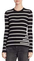 Alexander Wang Fitted Rib Sweater