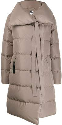 Bacon padded jacket with ribbon detaill