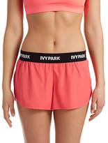 Ivy Park Logo Solid Running Shorts