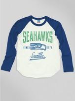 Junk Food Clothing Kids Boys Nfl Seattle Seahawks Raglan-sugar/liberty-l