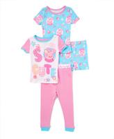 Komar Kids Blue & Pink Peppa Pig 'So Cute' Pajama Set - Toddler