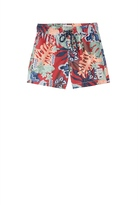 Country Road Jungle Floral Board Short