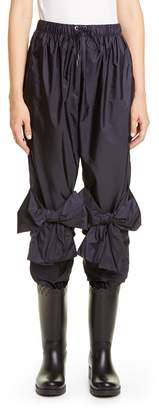 Simone Rocha Moncler Genius x 4 Bow Detail Crop Pants