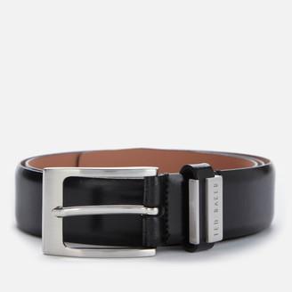 Ted Baker Men's Bilding Branded Leather Belt