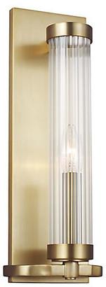 Alexa Hampton Ah X Generation Lighting Demi Sconce - Burnished Brass