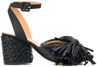 Paloma Barceló Block Heel Sandals