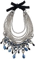 Night Market crystal chunky necklace