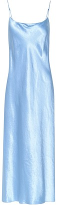 Vince Satin slip dress