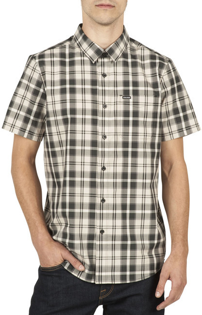 Volcom Plaid Short Sleeve Modern Fit Shirt