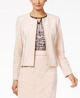 Calvin Klein Faux-Suede Zip-Front Jacket