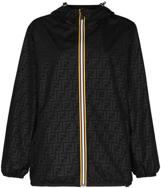 Fendi x K-Way packable lightweight jacket