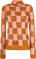 Marni dot print wrap skirt