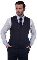 MA Men's Casual Slim Fit Dress Vest Waistcoat Men Business Vests